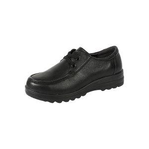 DUNWANG/盾王 女款行政工作鞋 3550-8 40码 黑色 防静电 1双