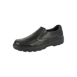 DUNWANG/盾王 一脚蹬男款行政工作鞋 8333-2 38码 黑色 绝缘 1双