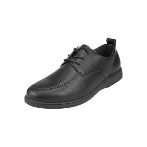 DUNWANG/盾王 防滑厨师工作鞋 411 45码 黑色 绝缘 EVA+橡胶大底 1双