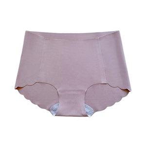 QINGHUA/轻画 无痕抗菌护理女士内裤 661 M 优雅粉 1条