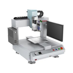 HANS/大族汉狮 桌面式三轴压电阀点胶机 HLDS331S 550×590×650mm 1套