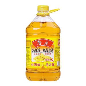 LH/鲁花 压榨一级花生油 6916168616813 4L 1桶