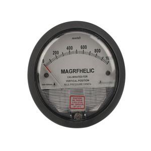 ELECALL/伊莱科 TE2000圆形指针差压表+第三方计量报告 0~250Pa 1个