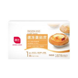 ZY/展艺 速冻蛋挞皮 6940256684392 51个装 1包