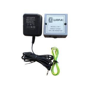 CLEANROOM/净雅 防静电手腕带报警器 SURPA-518-1 单工位 含电源适配器×1+接地线×1 1个