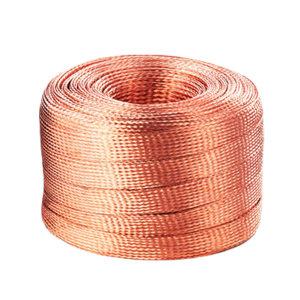BRIDGOLD/金桥铜业 铜编织线 TZ-15/6mm2 单丝0.15mm 1米