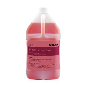 ECOLAB/艺康 灭汮魁杀菌除味清洁剂 7100219 4L 1桶