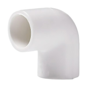 LESSO/联塑 PVC 给水90°弯头 dn75 1.0MPa 白色 1只
