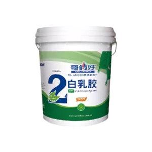 GELIAHAO/哥俩好 白乳胶 2号环保精典型 4kg 1桶