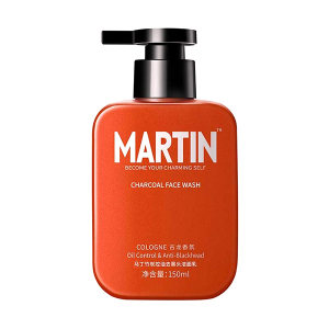 MARTIN/马丁 竹炭控油去黑头洁面乳 6921493035352 150mL 1瓶