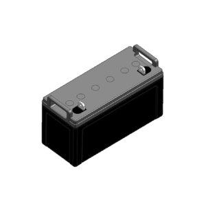 PANASONIC/松下 LC-Y系列阀控式铅酸蓄电池 LC-Y12120ST 120Ah 407×173×210mm 1只