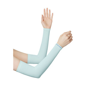 BANANAUNDER/蕉下 零触系列防晒袖套 女款  均码 浅滩蓝(2只/包) 1包
