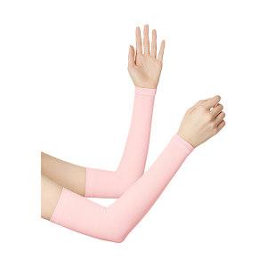 BANANAUNDER/蕉下 零触系列防晒袖套 女款  均码 杏粉色(2只/包) 1包