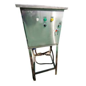 CZYINL E/引领电气 核电项目定制水泵箱 500*400*230 带支架 户外 断路器品牌正泰 不锈钢304 1.4mm厚 1个