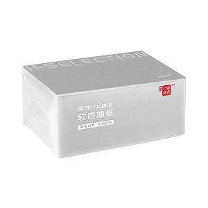 H SELECTION/震坤行家精选 软包抽纸(促销装) ZKH010 133×190mm 130抽×24包 三层 1箱