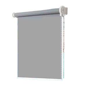 GONGBANGDA/工邦达 遮光隔热升降防水防晒拉珠卷帘 长2.9m*1.5m 烟灰色 1个