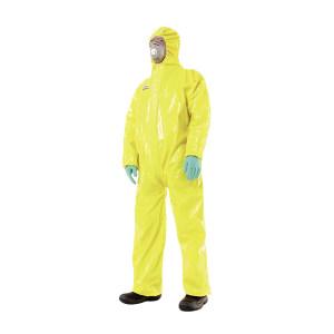 HONEYWELL/霍尼韦尔 SPACEL3000RA/EBJ连体防化服 4503000 L 黄色 1件