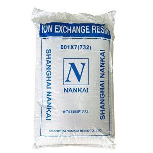 NANKAI/南开 强酸性苯乙烯系阳离子交换树脂 001×7(732) 25L(20kg) 1包