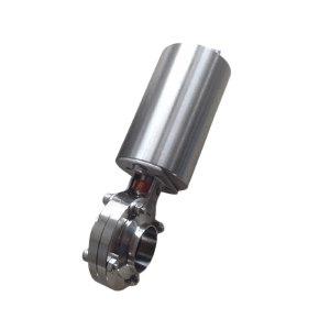 DONJOY/东正 气动蝶阀(焊接式) 立式气动 单作用 50.8×1.5 EPDM密封 304不锈钢 公称压力PN16 1个
