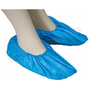 LINGTECH/凌致 一次性CPE鞋套 LZ06009 均码 蓝色 1000双 1箱