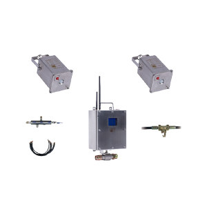 KRS/克锐森 矿用无线自动洒水降尘装置 ZP12 主控箱ZP12Z+热释光控传感器ZP-3R+红外遥控器FYF3+管路管件 1套