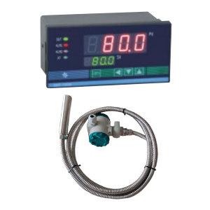 XYT/兴宇腾 投入式液位变送器(带智能数字显示仪表) XMT-700W+QYB203 精度0.5% 输出 4~20mA 不锈钢线缆长1m 电源AC220V 表头不带显示 1个