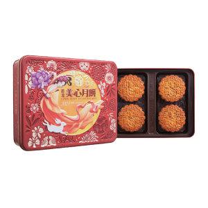 MEIXIN/美心 双黄莲蓉月饼 4892030000756 740g 1盒