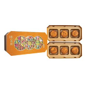 MEIXIN/美心 东方之珠月饼 4892030049243 660g 1盒