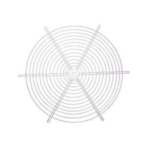DINZOO/顶卓 风机防护网 2.5# 适配SF2.5 外圈直径240mm 1个