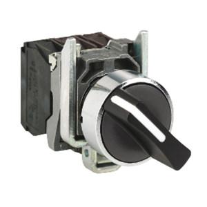 SCHNEIDER/施耐德电气 金属选择开关 XB4-BD25 ZB4BD2+ZB4BZ105 1个