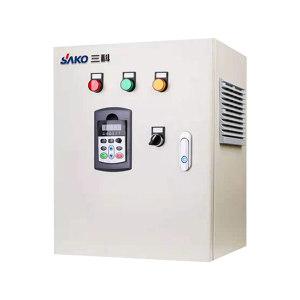 SAKO/三科 风机标准柜 600×500×400mm 含标准柜+变频器SKI600-015G-4 201不锈钢防雨柜 1台