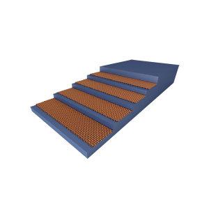 THREE-V/三维 聚酯输送带 EP100-1000*5(4.5+1.5)-可定制 1米