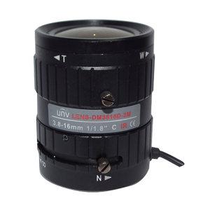 UNIVIEW/宇视 手动变焦镜头 LENS-DM3816D-3M 镜头焦距3.8~16mm 像素300万 1个