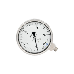 WIKA/威卡 压力表 233.50.100 0~2.5MPa 径向 M20×1.5 耐震 接液材质不锈钢  1个