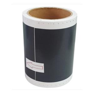 MAX/美克司 BepopCPM100系列标签贴纸 SL-S120N2 浅灰色 100mm×10m 1卷