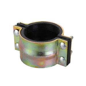HONGKANG/宏康 铸铁管道堵漏器哈夫节 DN100×90mm 低压 1个