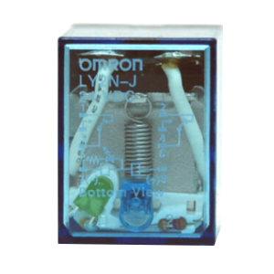 OMRON/欧姆龙 LYJ系列一般通用继电器 LY2N-J DC24 BY OMI 1个