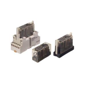 OMRON/欧姆龙 G7S系列带强制导向接点安全继电器 G7S-4A2B-E DC24 1个