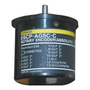OMRON/欧姆龙 E6CP-A系列绝对型编码器 E6CP-AG5C 256P/R 2M 1个