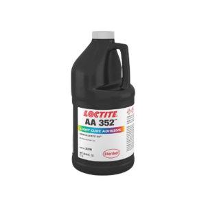 LOCTITE/乐泰 UV固化胶(高粘度型) 352 透明 1L PART NO.33427 1桶