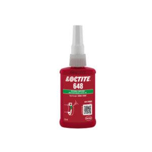 LOCTITE/乐泰 圆柱固持胶-低粘度高强度型 648 绿色 低粘度高强度 50mL 1支