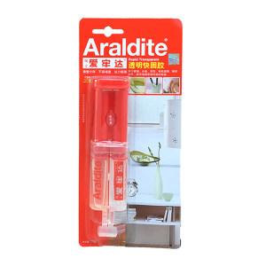 ARALDITE/爱牢达 透明快固胶 RAP-TRANS 针筒包装 80*25G/支 1支
