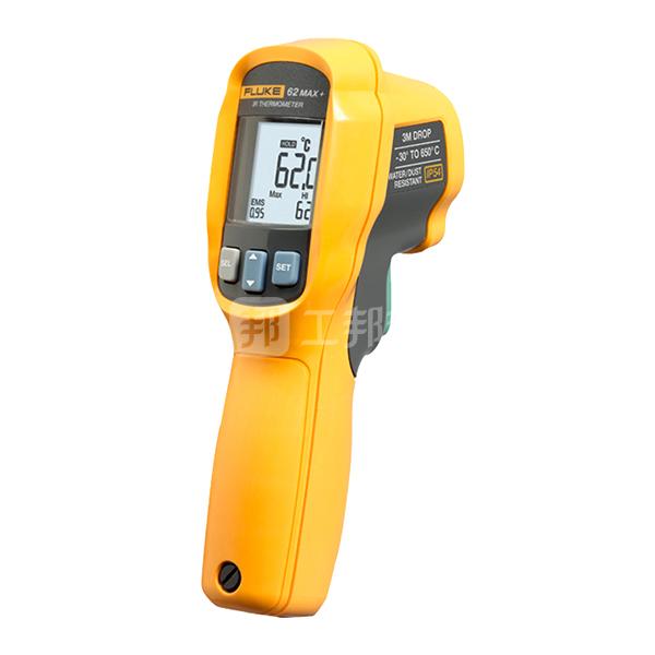 FLUKE/福禄克 红外测温仪 FLUKE-62MAX+ -30~650℃ 防尘/防水 1台