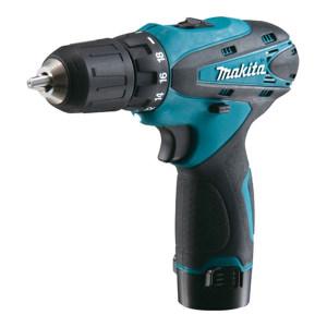 MAKITA/牧田 10.8V 10mm锂电电钻 DF330DWE 含有两电一充 10.8V/1.3Ah 1把