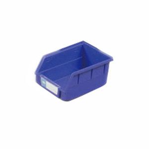 HQ/环球 背挂式零件盒 TSL1410 外尺寸140×105×75mm 内尺寸120×90×65mm 蓝色(含1张标签纸 1个透明标签盖) 1个