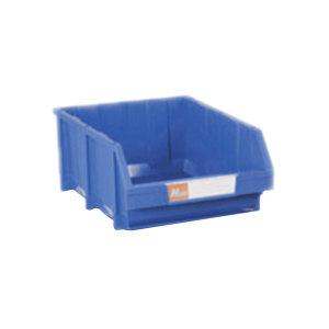HQ/环球 普通型组立零件盒 TSL2515A 外尺寸250×150×125mm 内尺寸205×120×115mm 蓝色(含1张标签纸 1个透明标签盖 4根立柱) 1个
