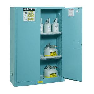 JUSTRITE/杰斯瑞特 经典款钢制腐蚀品安全柜 8945021 外尺寸:1651x1092x457mm 170L(45gal) 1台