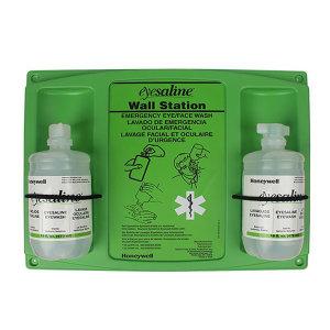 HONEYWELL/霍尼韦尔 Eyesaline洗眼液 32-000462-0000 32盎司 双瓶装 带霍尼原厂挂板 1套