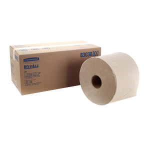 KIMBERLY-CLARK/金佰利 WYPALL*劲拭*L30大卷式工业擦拭纸 83030 棕色 24*40cm 木浆 1箱