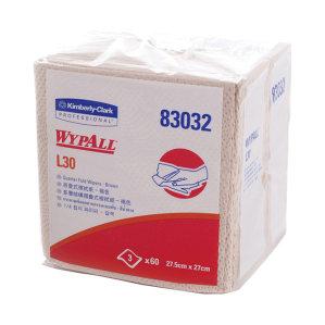 KIMBERLY-CLARK/金佰利 WYPALL*劲拭*L30折叠式工业擦拭纸 83032 棕色 27*27.5cm 木浆 1包